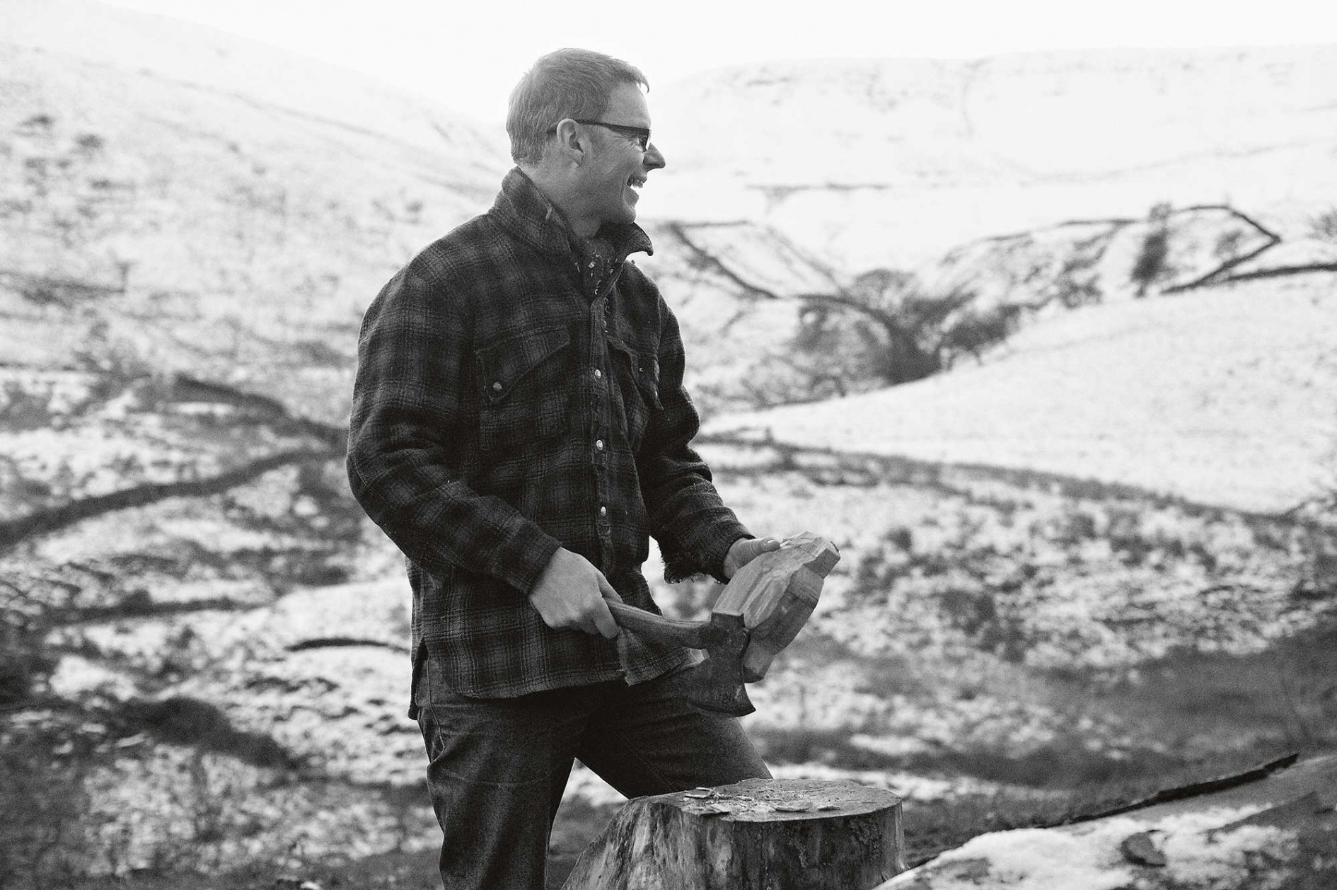 Portrait of Robin Wood outdoors