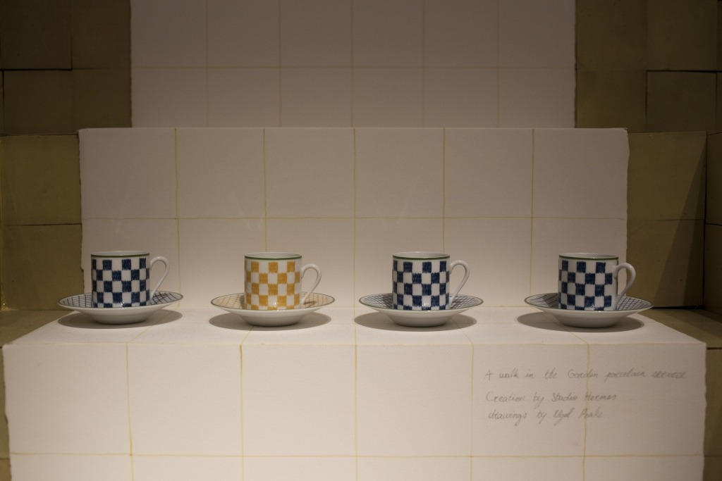 Coffee cups by Nigel Peake for Hermès