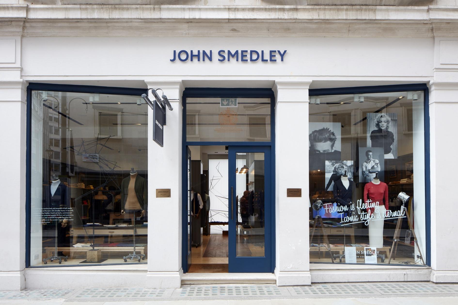 The John Smedley store on Jermyn Street