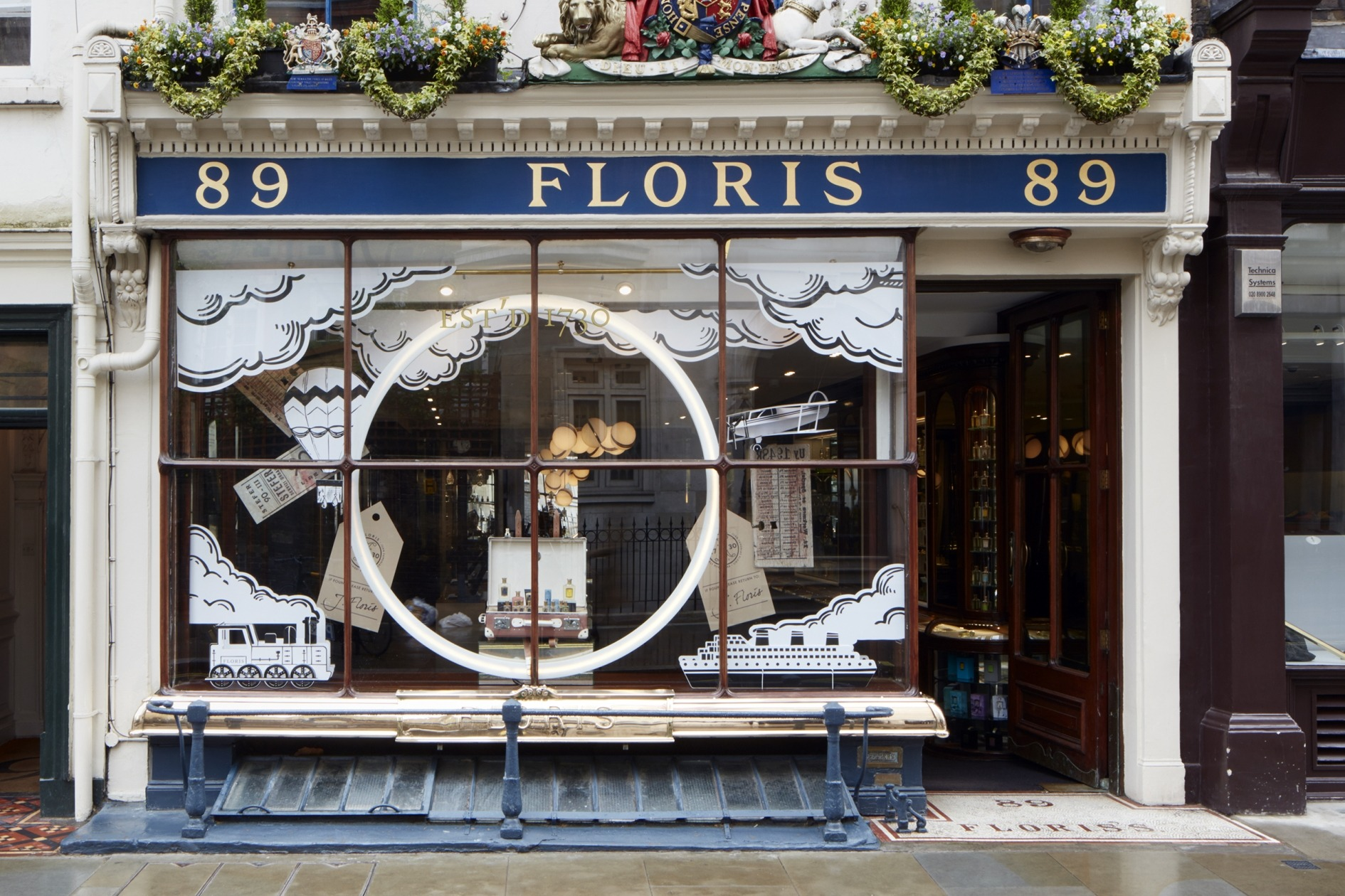 The Floris store at 89 Jermyn Street