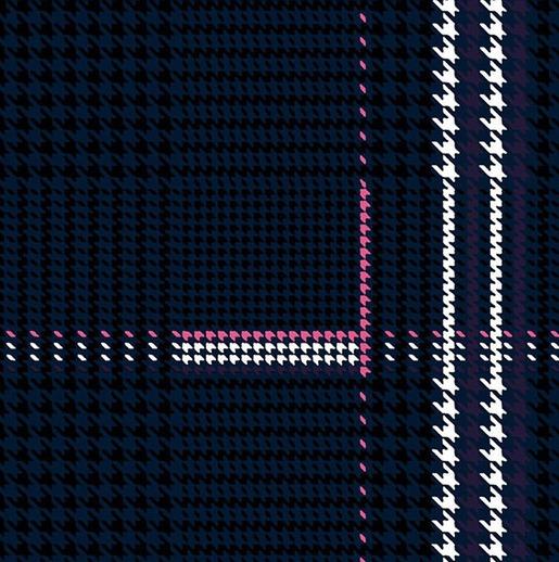 Kyle Dawney's winning design for the 2018 Huntsman Tweed Competition