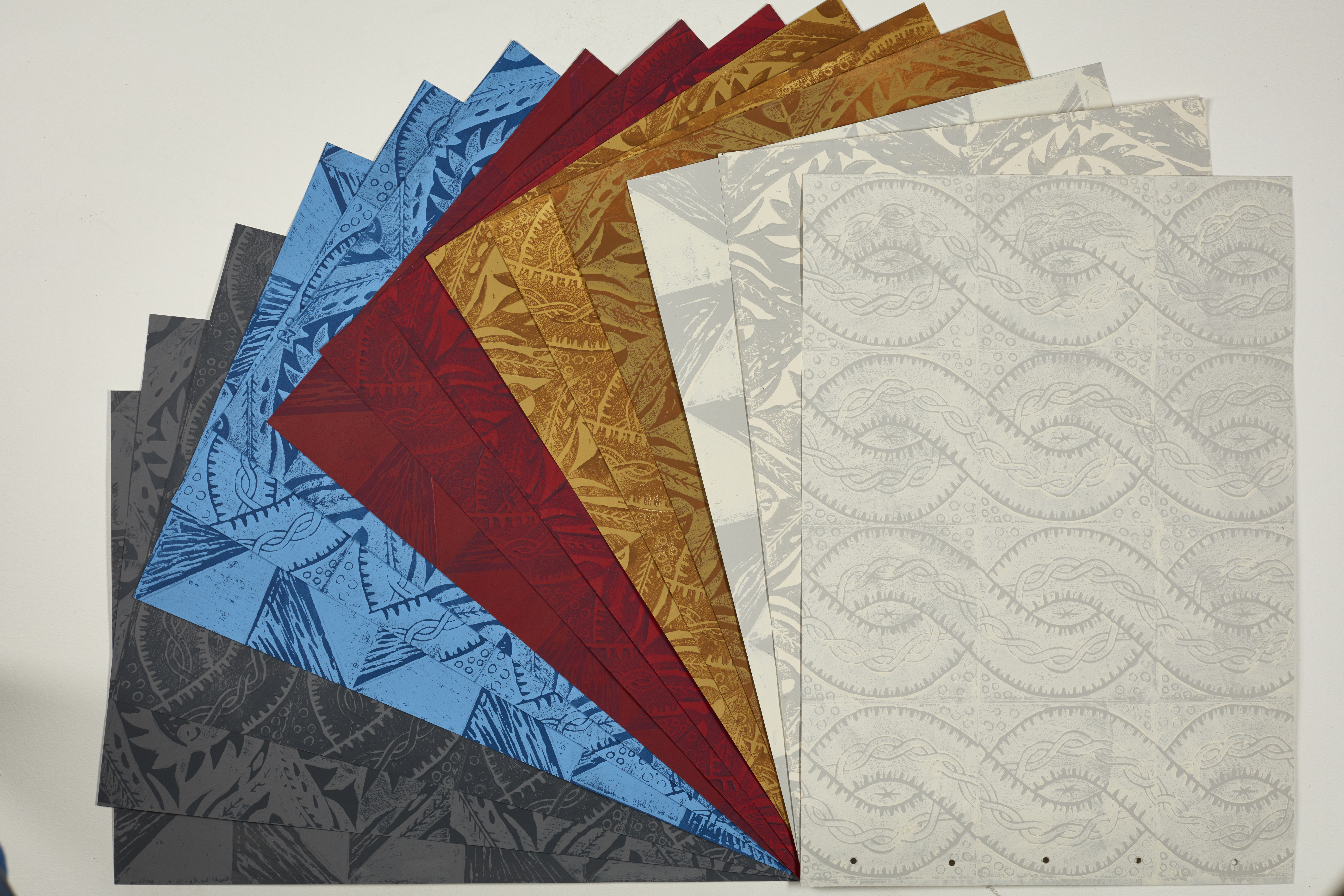 The new limited edition collection of wallpaper and wallpaper prints based on Peggy Angus designs at The New Craftsmen