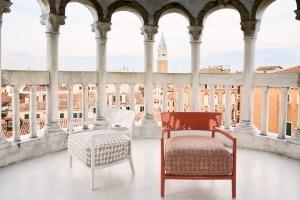 Kartell Wander shot at Palazzo Contarini del Bovolo, Venice